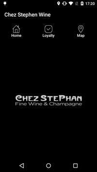 Chez Stephen Wine poster