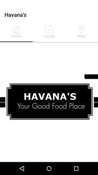 Havana's Coffee poster