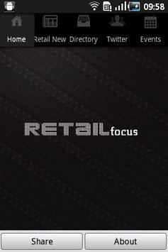 Retail Focus Magazine poster