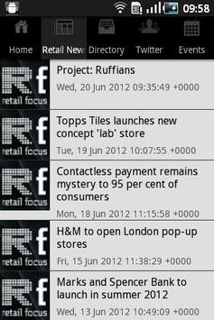 Retail Focus Magazine apk screenshot