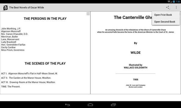 Novels of Oscar Wilde screenshot 3