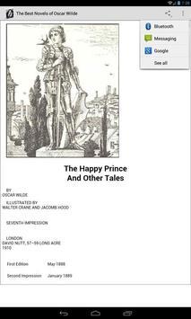 Novels of Oscar Wilde screenshot 1