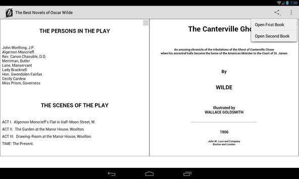 Novels of Oscar Wilde screenshot 7