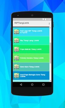 Terbaru Lagu RIP Tiang Listrik Parody apk screenshot