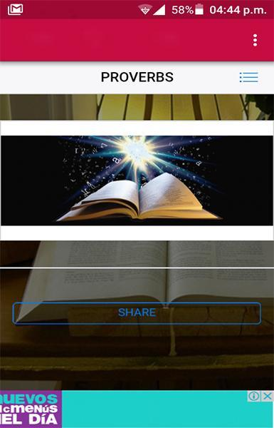 Proverbs Quotes: Book of Proverbs:Proverbs for Android - APK