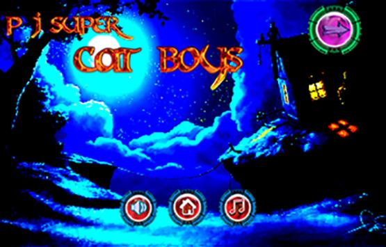 P J Super Cat Boys poster