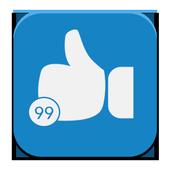 زيادة اللايكات icon