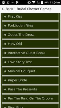 Bridal Shower Games screenshot 2