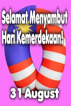 Hari Kemerdekaan Malaysia poster