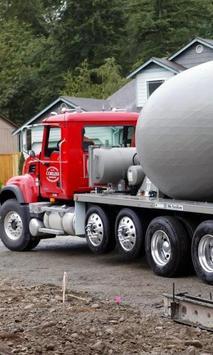 Concrete Mixer Truck Puzzles poster