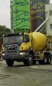 Concrete Mixer Truck Puzzles apk screenshot