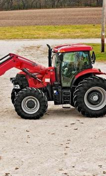 Jigsaw Puzzles Tractor Case IH poster