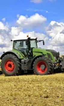 Jigsaw Puzzles Tractor Fendt poster