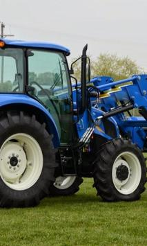 Puzzles Tractor New Holland poster