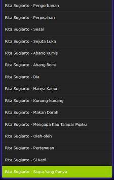 Lagu Rita Sugiarto Dangdut Mp3 apk screenshot