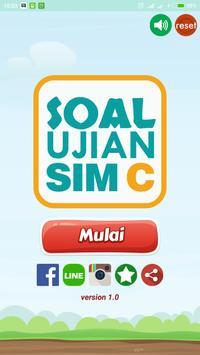 Soal Ujian SIM C poster