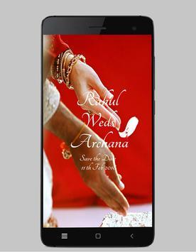 Rahul weds Archana poster
