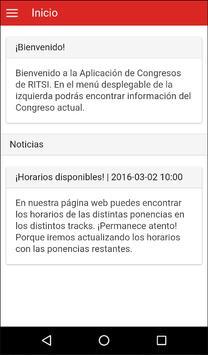 Congreso RITSI 2.0 poster