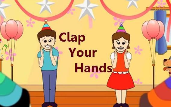Kids Poem Clap Your Hands poster