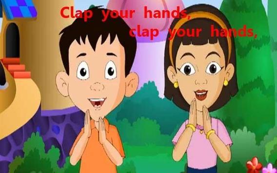 Kids Poem Clap Your Hands apk screenshot
