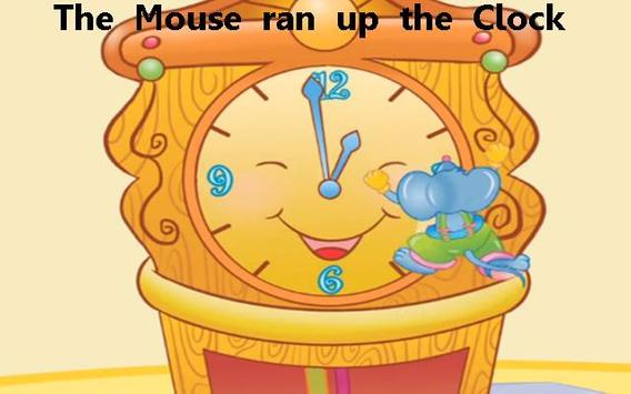 Hickory Dickory Dock Kids Poem apk screenshot