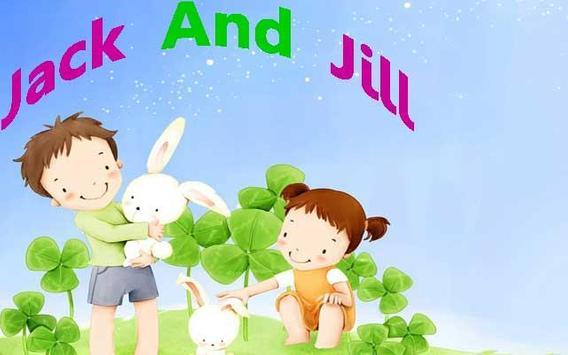 Jack and jill Kids Poem apk screenshot