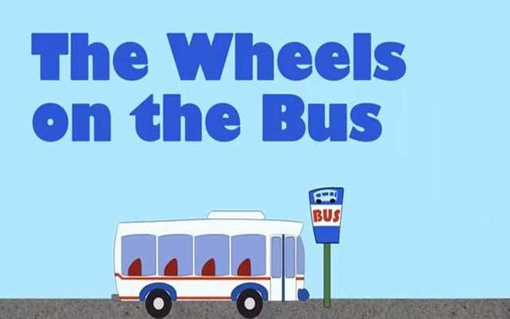 Wheels On The Bus Kids Poem poster