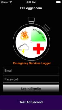 Emergency Services Logger poster