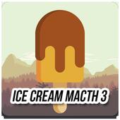 Candy Ice Cream Jam Match 3 icon