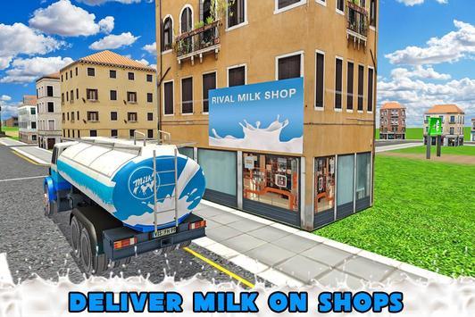 Transport Truck Milk Delivery apk screenshot