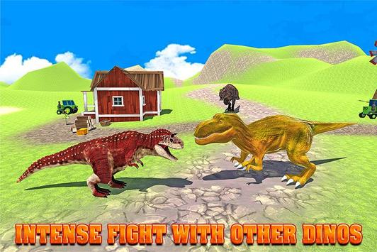City Dino Rampage 2017 apk screenshot