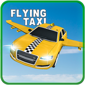 Flying Car Sim: Taxi Pilot 3D icon