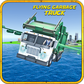 Flying Truck: Garbage Driver icon