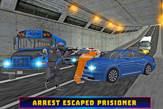 Police Bus Criminal Escape apk screenshot