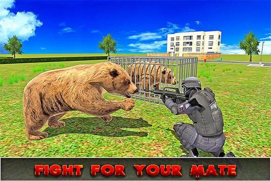 Wild Angry Bear Simulator poster