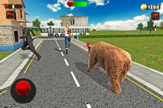 Wild Angry Bear Simulator apk screenshot