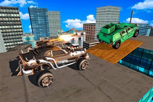 RoofTop Demolition Derby Car apk screenshot