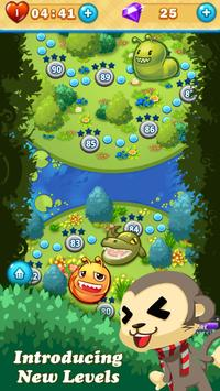 Monkey Fruits Crush apk screenshot