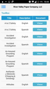 River Valley Paper Safety App screenshot 4