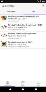 Riverbed Conferences poster
