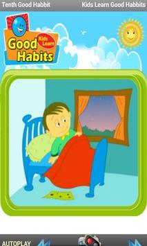 Kids Learn Good Habits apk screenshot