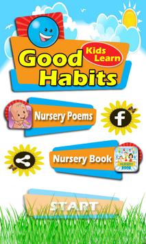 Kids Learn Good Habits poster