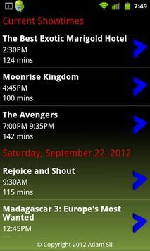 RiverviewShowtimes apk screenshot