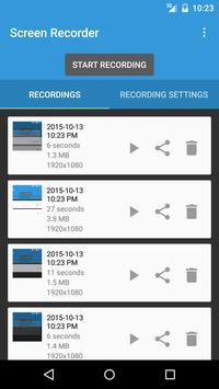 Lollipop Screen Recorder スクリーンショット 1
