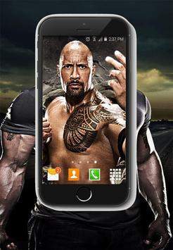 Wallpapers HD Of The Rock WWE 2018 Screenshot 3