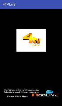 4Tv LIVE STREAMING NEWS poster