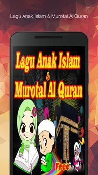 Lagu Islami Anak dan Murotal Al Quran - Offline poster