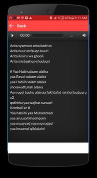 Lagu Sholawat Rizal Vertizone + Lirik poster
