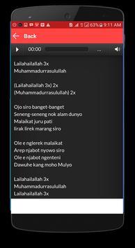 Lagu Sholawat Rizal Vertizone + Lirik screenshot 1