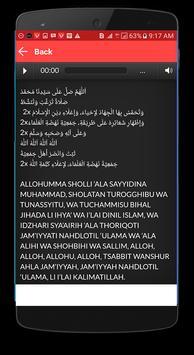 Lagu Sholawat Rizal Vertizone + Lirik screenshot 3